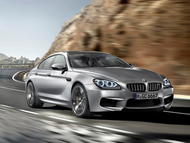 Новый BMW M6 Gran Coupe - BMW M6 Gran Coupe 2013 вид спереди