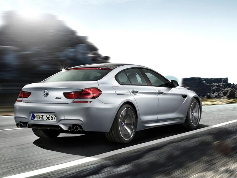 BMW M6 Gran Coupe 2013 вид сзади