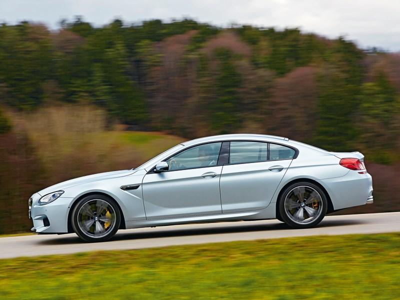 BMW M6 Gran Coupe 2013 вид сбоку