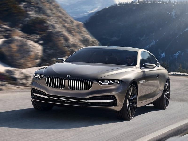 BMW Pininfarina Gran Lusso Coupe 2013 концепт вид спереди