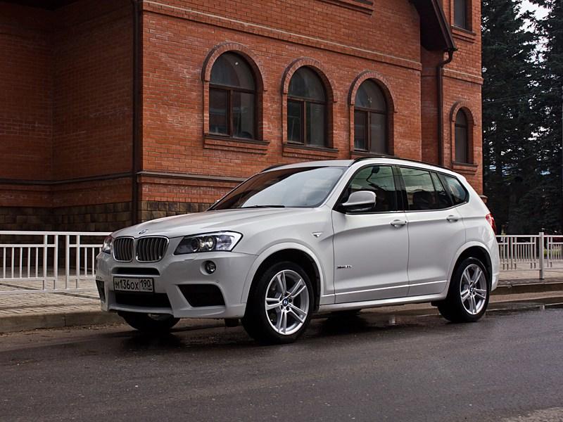 BMW X3 - bmw x3 2010 вид спереди