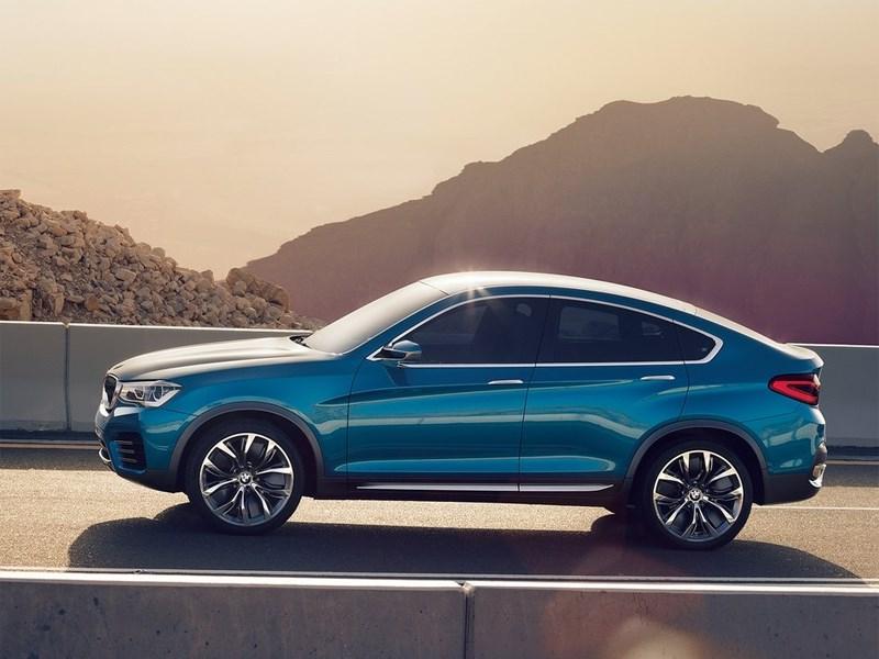BMW X4 концепт вид сбоку