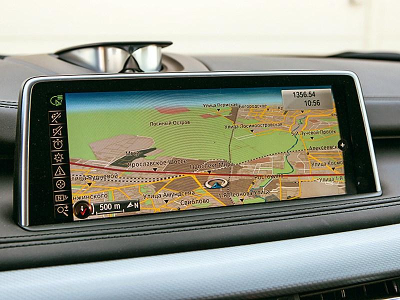 BMW X5 M50d 2013 монитор