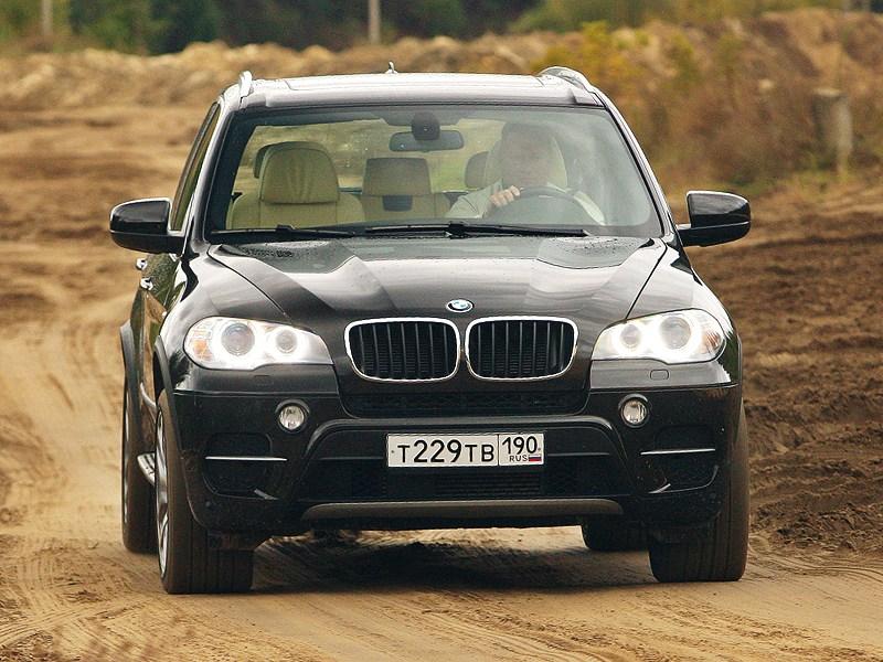 BMW X5 хDrive35i 2011 вид спереди