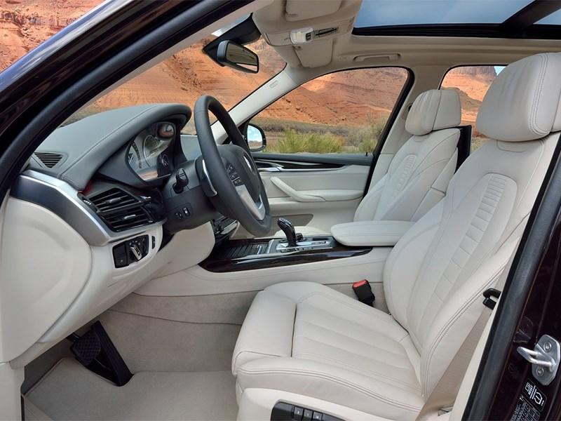 BMW X5 2013 передние кресла