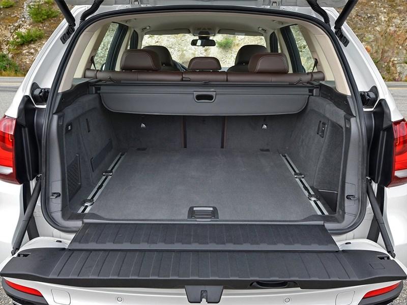 BMW X5 2013 багажное отделение
