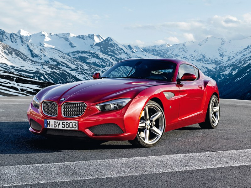 Новый BMW Zagato Coupe - BMW Zagato Coupe 2013 вид спереди