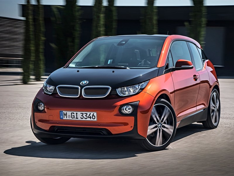 Новый BMW i3 - BMW i3 2014 вид спереди