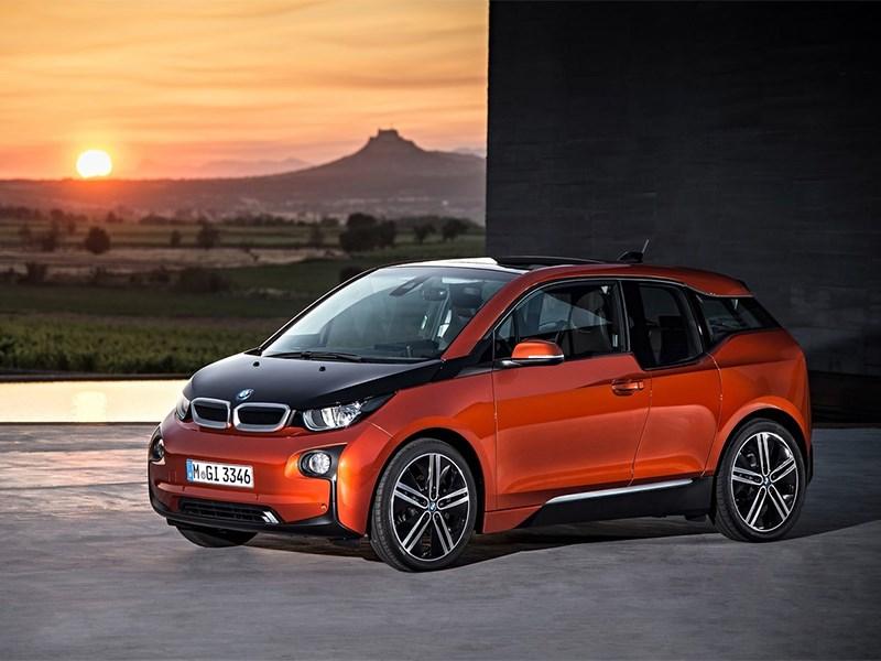 BMW i3 2014 вид спереди