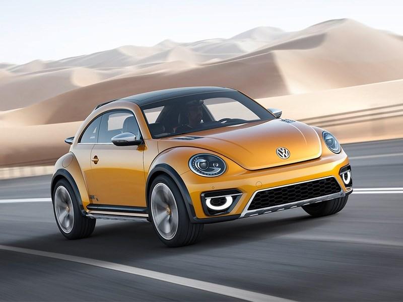 Новый Volkswagen Beetle Dune - Volkswagen Beetle Dune concept 2014 вид спереди