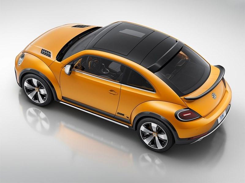 Volkswagen Beetle Dune concept 2014 вид сверху