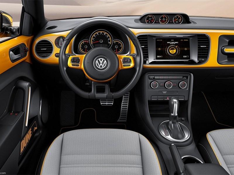 Volkswagen Beetle Dune concept 2014 водительское место