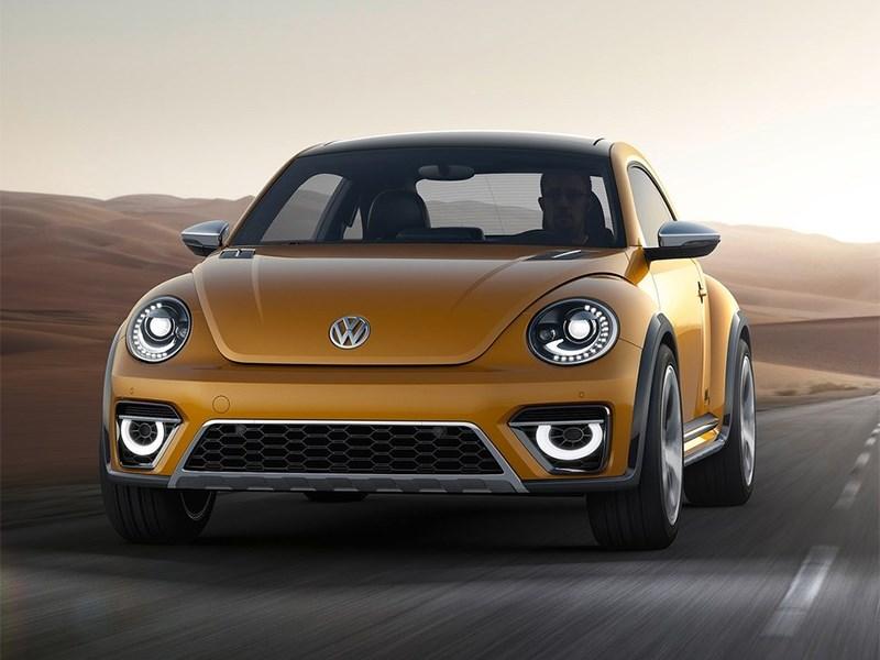 Volkswagen Beetle Dune concept 2014 вид спереди фото 2