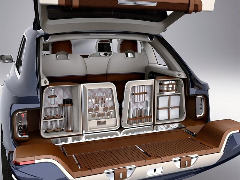 Bentley EXP 9 F Concept 2012 багажное отделение