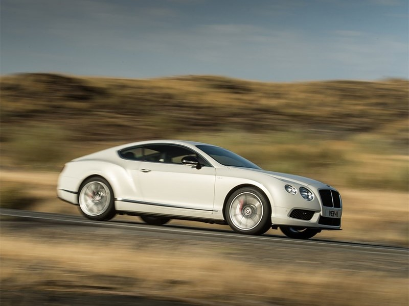 Bentley Continental GT V8 S купе 2014 вид сбоку