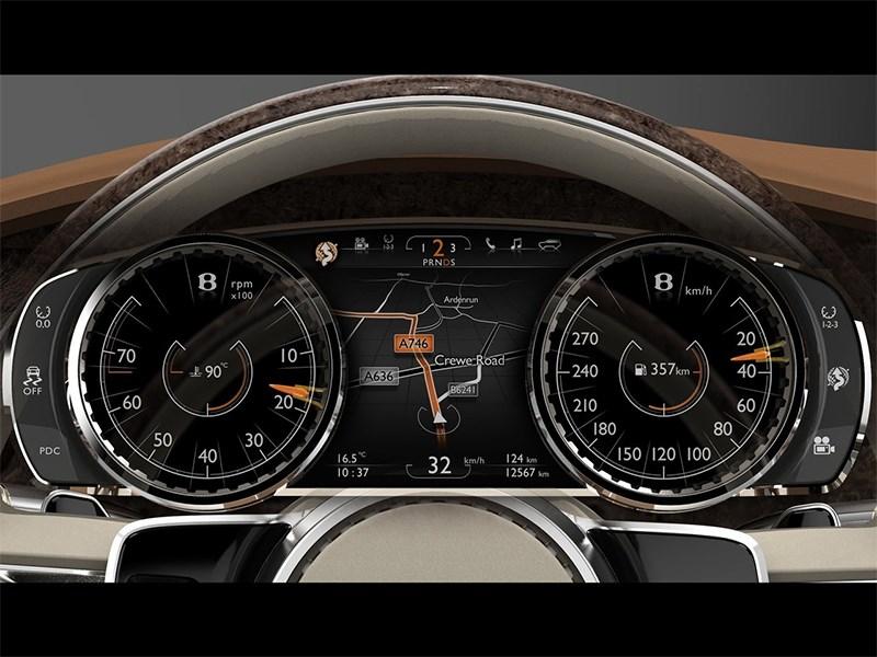Bentley EXP 9 F Concept 2012 приборная панель