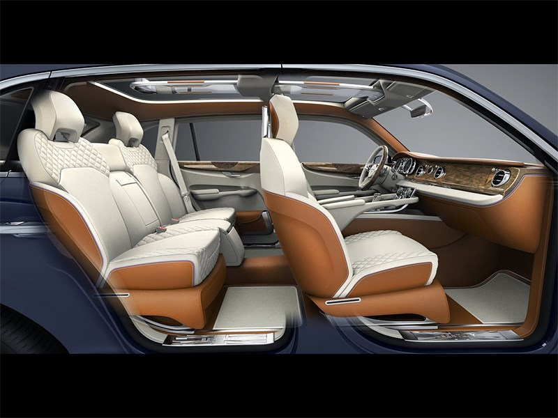 Bentley EXP 9 F Concept 2012 салон