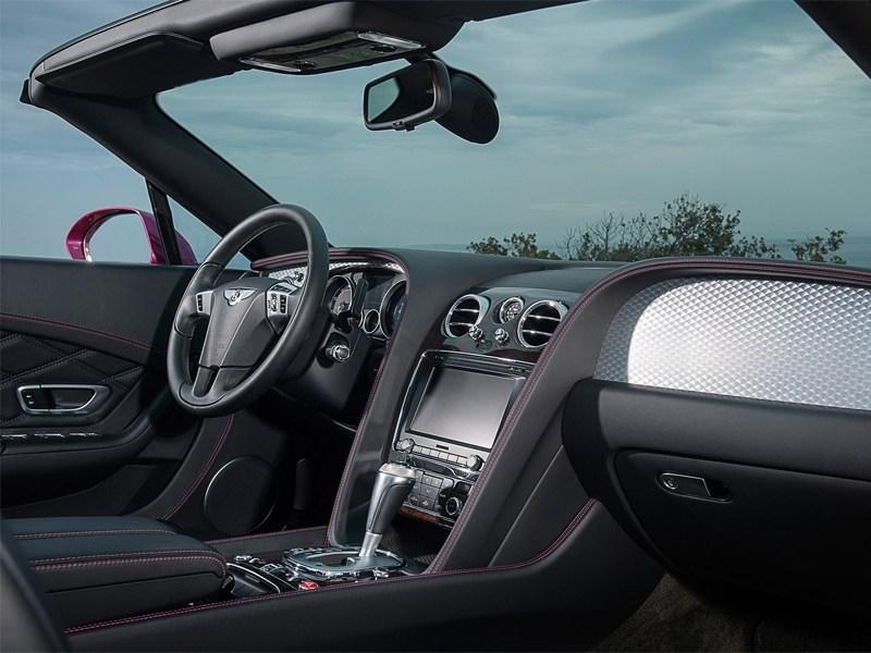 Bentley Continental GT Speed Convertible 2014 водительское место