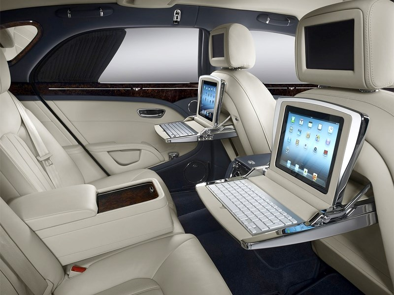 Bentley Mulsanne 2014 салон