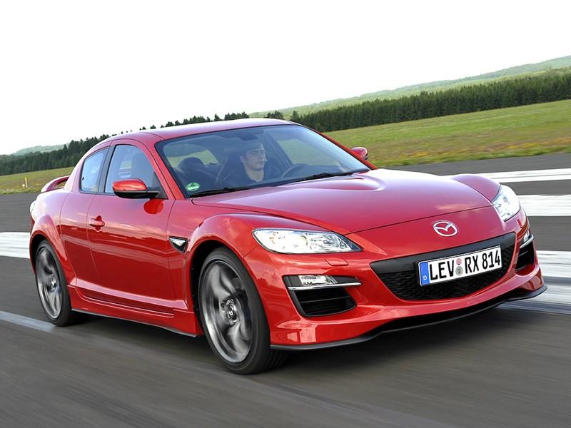 Mazda вспомнила о проданных в России роторных RX-8