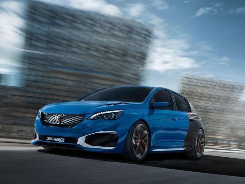 Peugeot планирует создать «заряженный» гибридный хэтчбек
