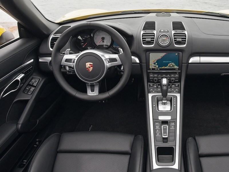 Porsche Boxster S 2012 водительское место