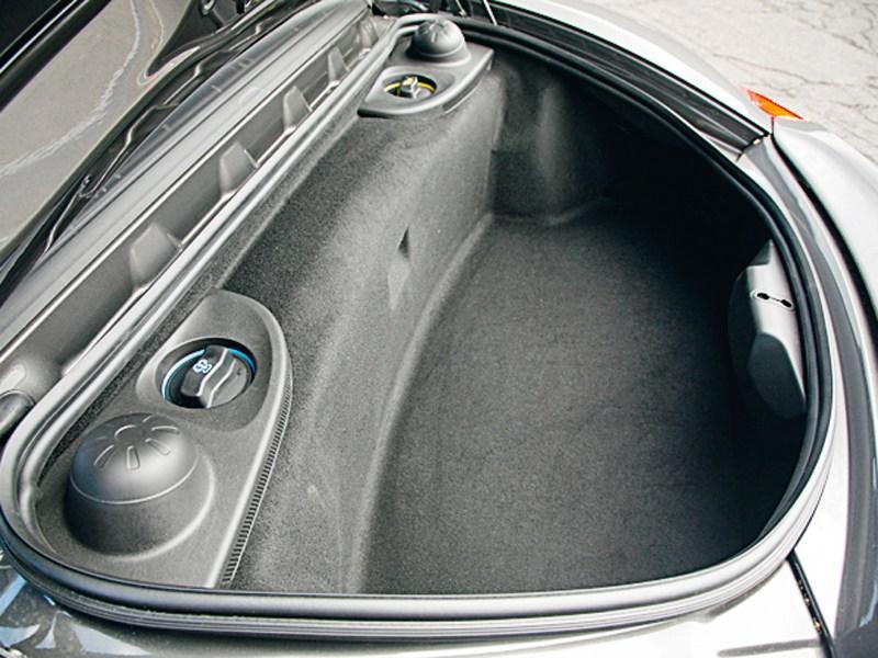 Porsche Boxster S 2012 багажное отделение