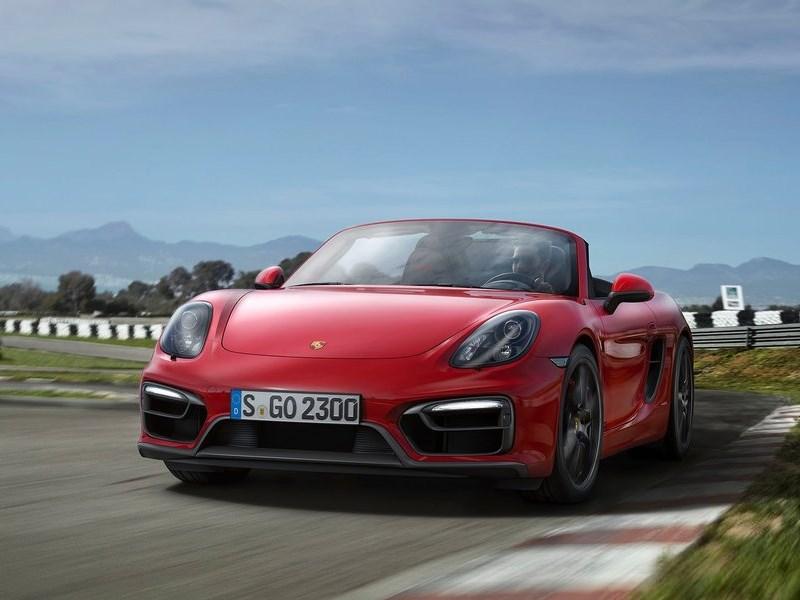Porsche Boxster GTS 2014 вид спереди