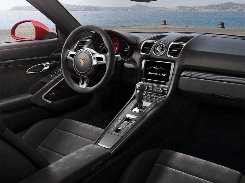 Porsche Boxster GTS 2014 салон