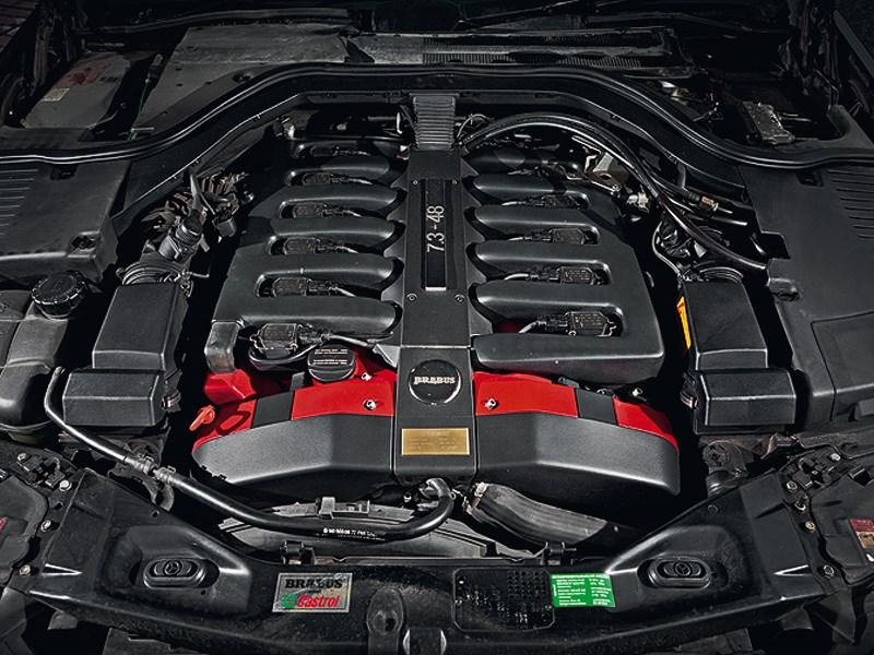 Brabus 7.3S 1998 двигатель