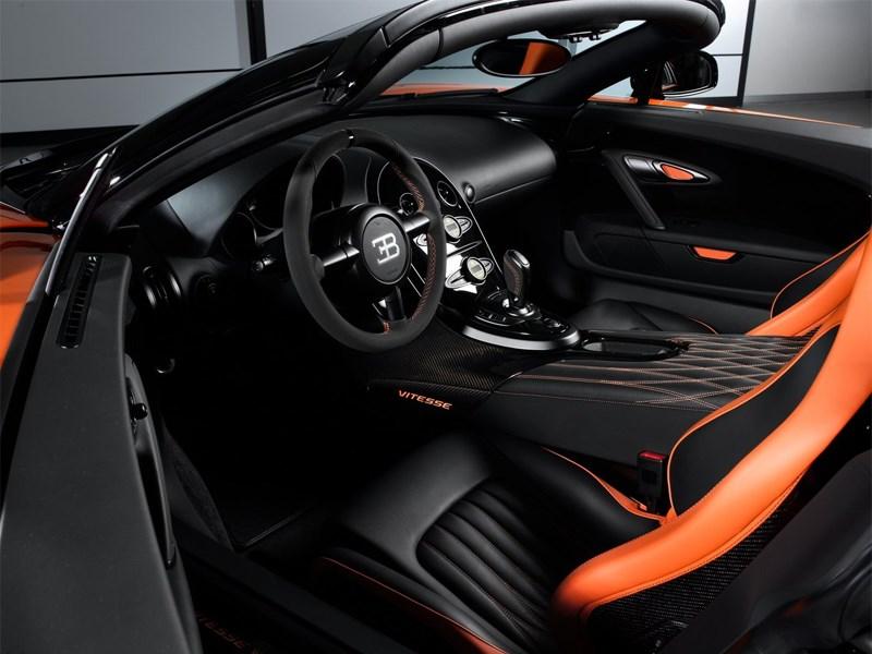 Bugatti Veyron Grand Sport Vitesse WRC 2014 водительское место