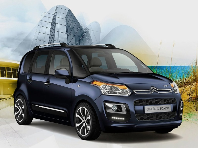Большие возможности в малом формате (Citroen C3 Picasso,Honda Jazz,Nissan Note,Opel Meriva,Hyundai Matrix,Skoda Roomster) C3 Picasso