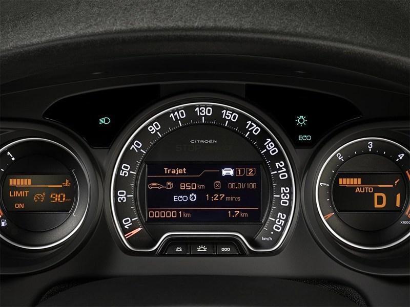Citroen C5 2013 приборная панель
