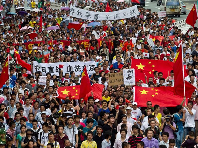 Антияпонские демонстрации в Китае привели к снижению автопродаж