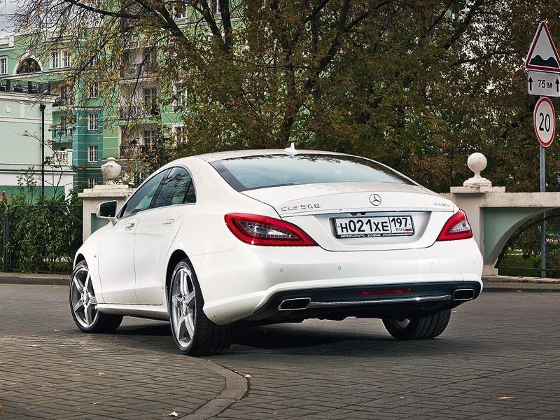 Mercedes-Benz CLS 2012 вид сзади