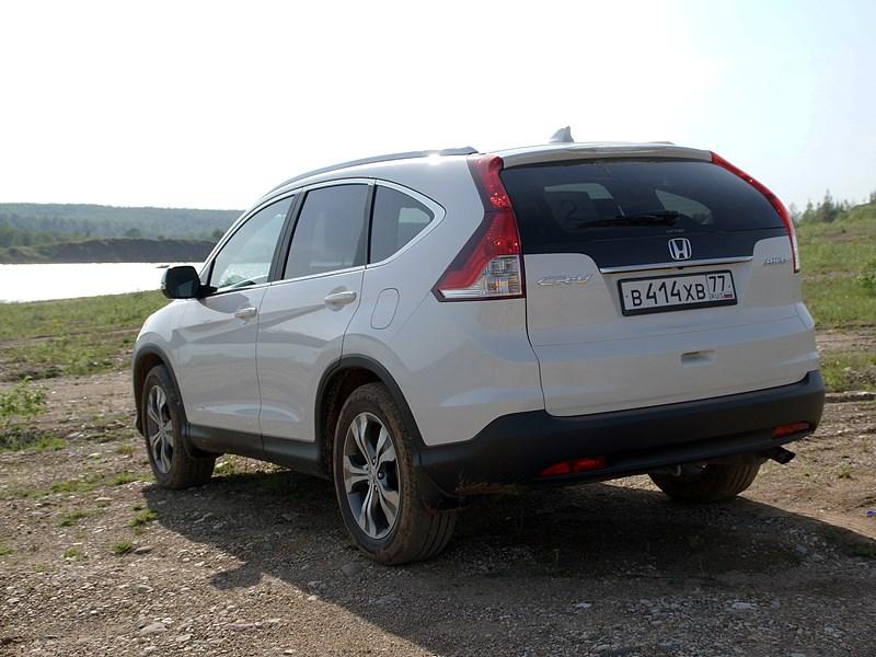 Honda CR-V 2013 вид сзади