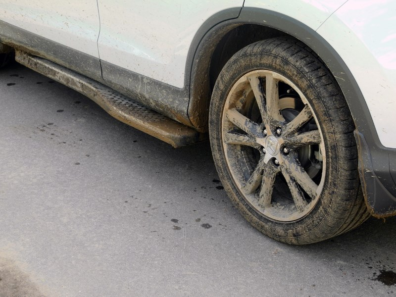 Honda CR-V 2013 декоративные пороги