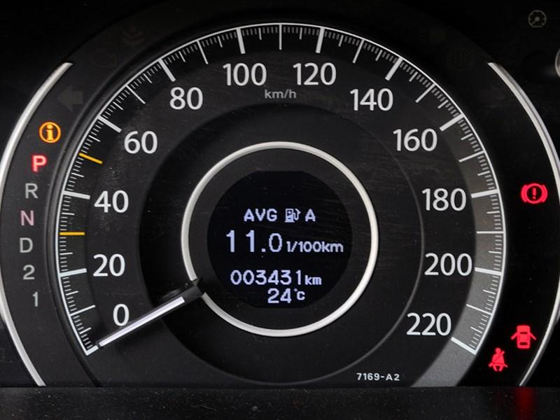 Honda CR-V 2013 спидометр