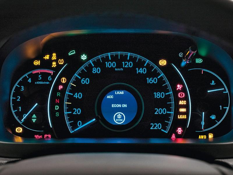 Honda CR-V 2013 приборная панель