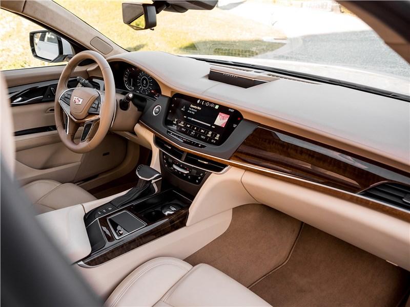 Cadillac CT6 2017 салон