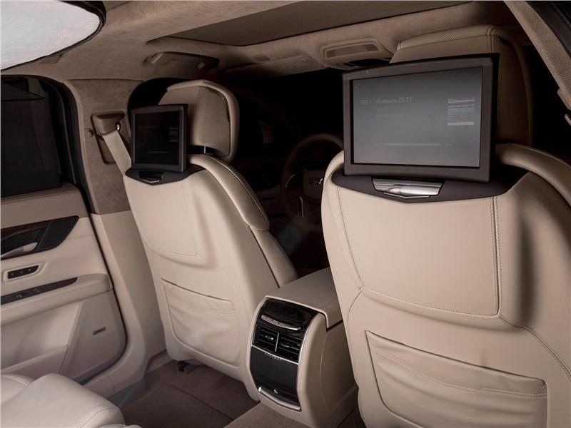 Cadillac CT6 2017 спинки передних кресел