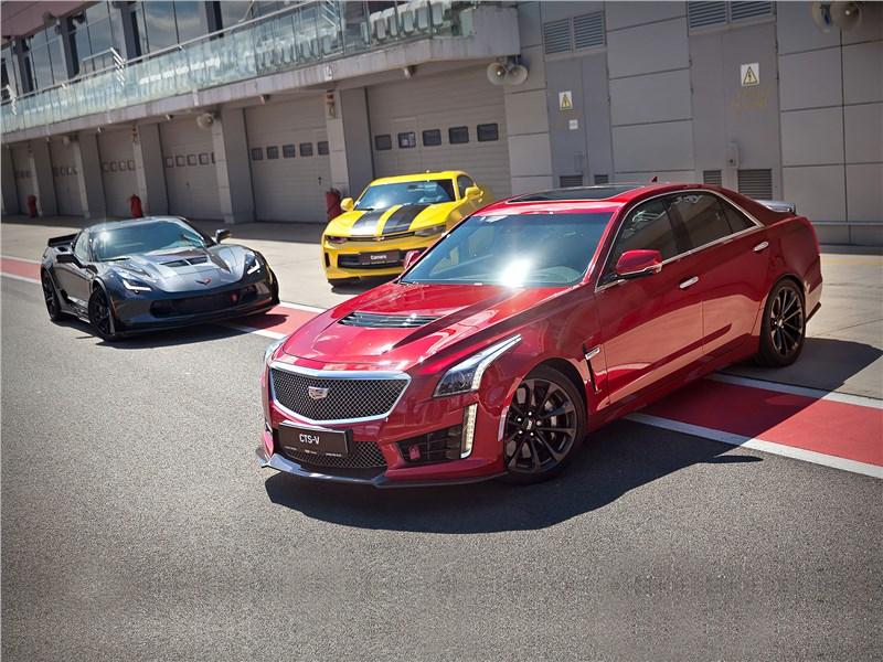 Cadillac CTS-V - cadillac cts-v 2016 быстро и еще быстрее