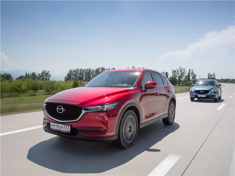 Mazda CX-5 2017 вид спереди