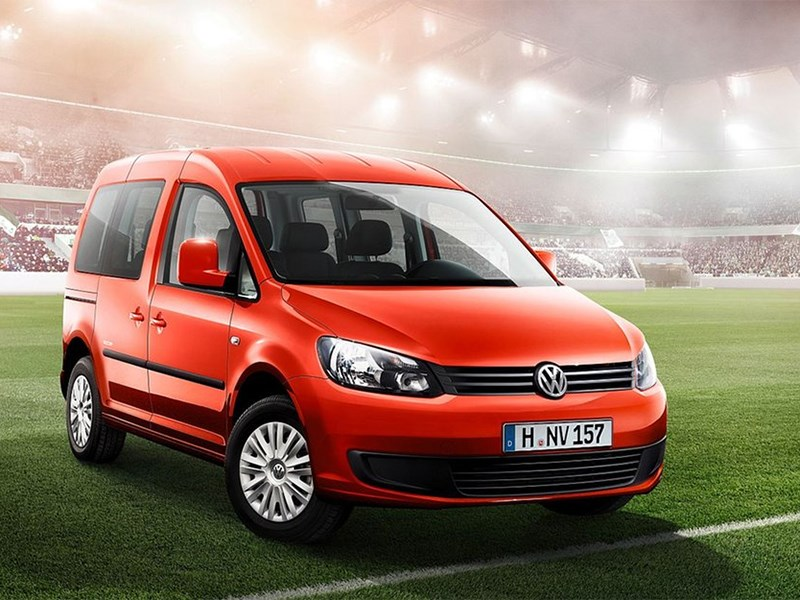 Новый Volkswagen Caddy - Volkswagen Caddy Soccer 2014