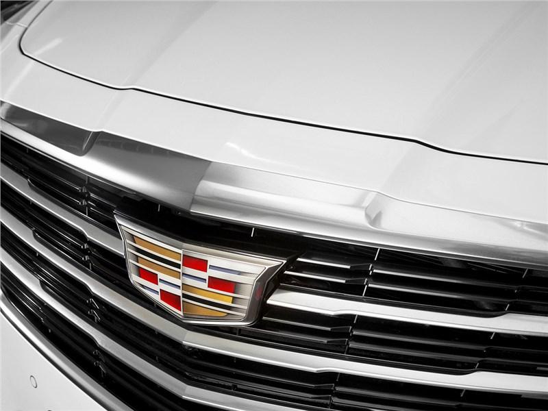 Cadillac CTS 2017 решетка радиатора