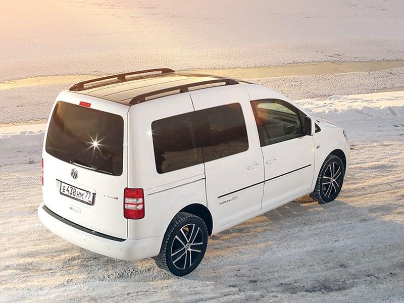 Volkswagen Caddy Edition30 2012 вид сзади