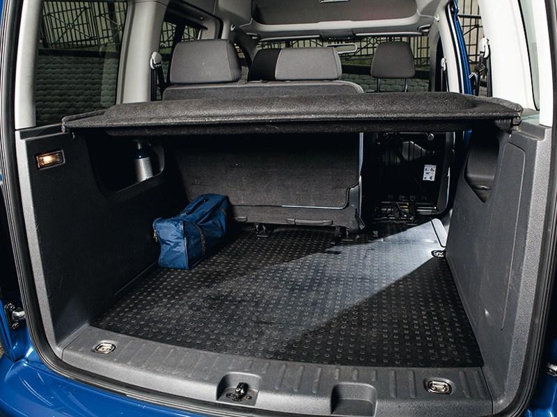 Volkswagen Caddy багажное отделение