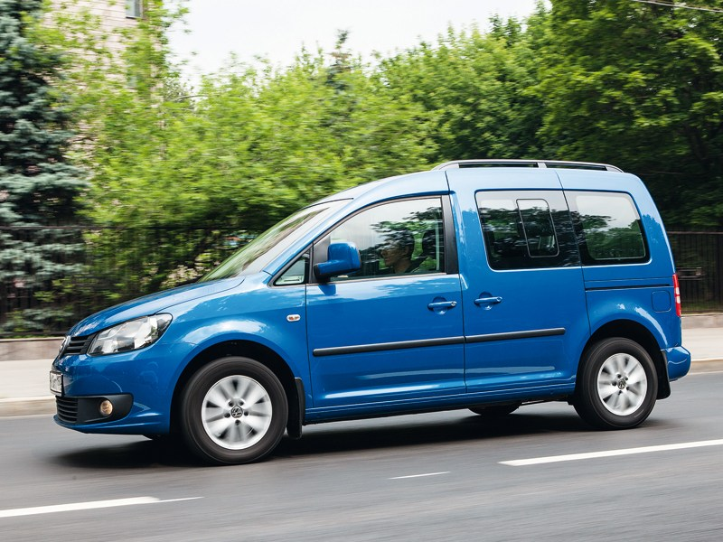 Volkswagen Caddy вид сбоку