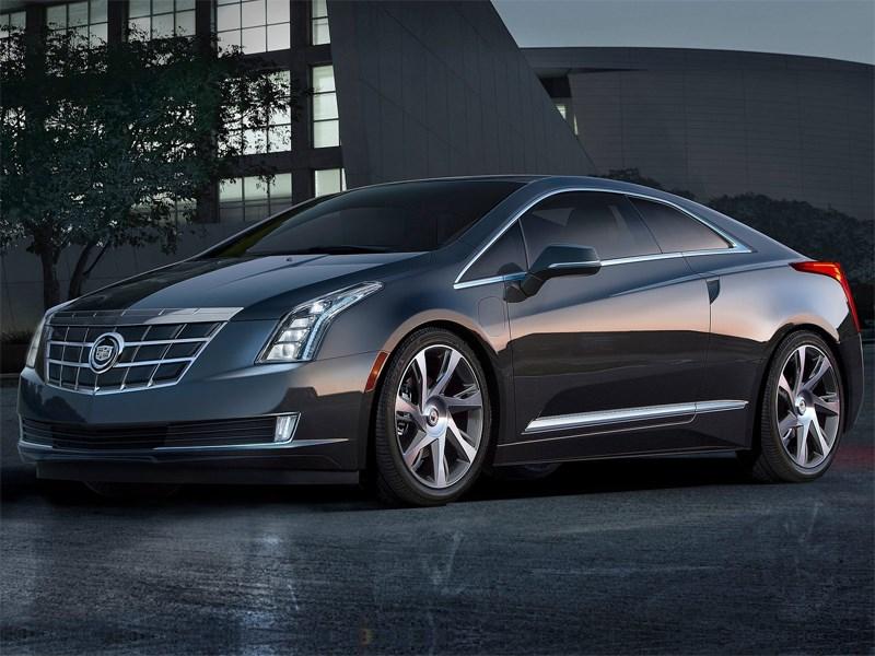 Cadillac ELR 2013 вид спереди