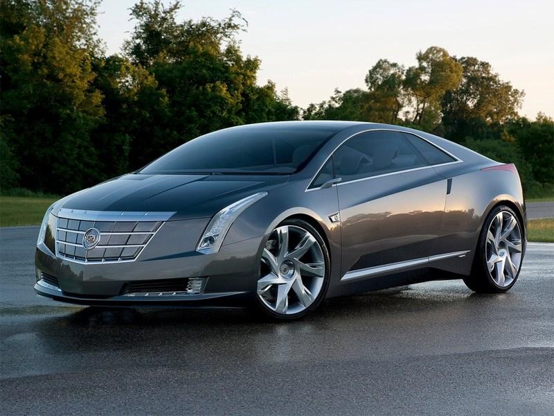 Cadillac Converj концепт вид спереди